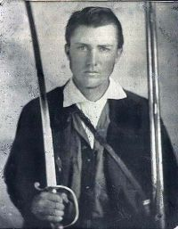 Pink Gaines 13th Texas Infantry
