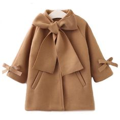 Looking for Kid Baby Girl Winter Warm Wool Bow Coat Overcoat Outwear Jacket Clothes ? Check out our picks for the Kid Baby Girl Winter Warm Wool Bow Coat Overcoat Outwear Jacket Clothes from the popular stores - all in one. Girls Winter Coats, Kids Coats, Baby Girl Bows, Baby Girls, Toddler Girls, Kids Girls, Baby Outfits, Mode Mantel, Winter Overcoat