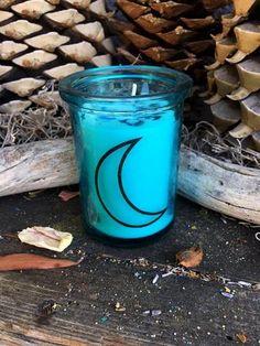 Rita's NEW MOON Ritual Candle -  Imagination, Creativity, Sowing Seeds - Pagan, Magic, Hoodoo, Witchcraft, Juju
