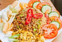 How to Cook Indonesian Spicy Nasi Goreng Recipes | Mukpin Recipes