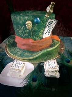 My Mad Hatter Cake