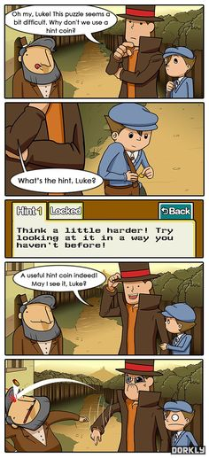 Professor Layton:D (have felt like this SO MANY times!)