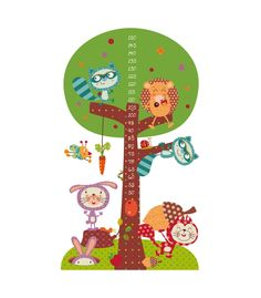 vinilo infantil medidor arbol magico New Sticker, Wall Sticker, Decals, Murals For Kids, Kindergarten Classroom, Classroom Ideas, Wall Decor, Wall Art, Baby Toys