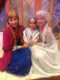 Little girl who faced racist taunts finally gets her 'Frozen' wish