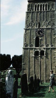 All Saints' Church, Earls Barton, Xe siècle.