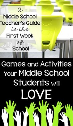 Looking for ways to engage your middle school students during the first week of school. Middle School Music, Middle School Reading, Middle School English, Middle School Classroom, Middle School Science, Middle School Advisory, Education Middle School, Ice Breakers Middle School, Math Ice Breakers