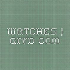Watches | Giyd.com