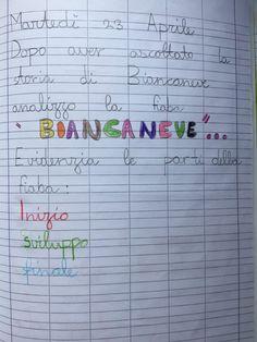Quaderno di italiano classe 2^ La fiaba Bullet Journal, Education, School, Blog, Alphabet, Italian Language, Autism, Lab