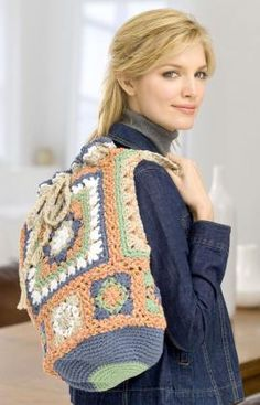 Oversized Granny Bag Crochet Pattern