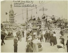 Luna Park, Coney Island c. 1917.  Source: NYPL