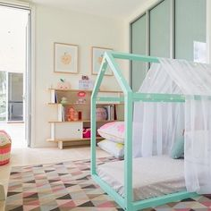 decorating ideas dreamy bedroom for little girl house frame with netting
