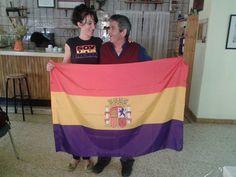 Andrea Jambrina Con mi padre y su regalo de cumpleaños