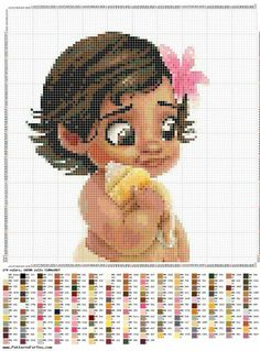 Disney Cross Stitch Patterns, Cross Stitch For Kids, Just Cross Stitch, Beaded Cross Stitch, Cross Stitch Baby, Cross Stitch Charts, Cross Stitch Designs, Cross Stitch Embroidery, Mermaid Cross Stitch