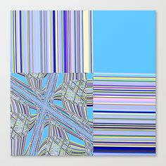 Re-Created Southern Cross VII Stretched Canvas by Robert S. Lee - $85.00