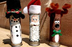Shotgun Shell Xmas Ornament Family, Redneck Christmas For Sure, I would use a log!