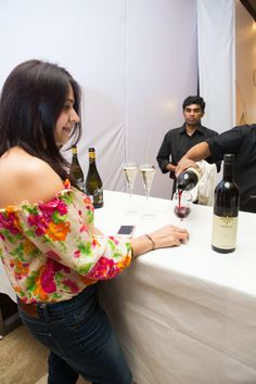 24/10/2013 Davidoff Store Launch @ UB City   Alpine Wineries sponsorship