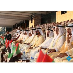 12/2/14 UAE 43rd National Day celebration at Grand Stand of Abu Dhabi Naitonal Exhibition Centre with KM KIng Mohammed VI of Morocco  PHOTO sheikhmohammed.ae