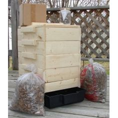 We've been wanting to start vermicomposting; no more kitchen scraps in the trash. I've been thinking of building my own bin, but this kit has everything you need to start.  @Organize.com AND #contest