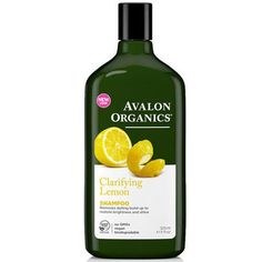 Clarifying Shampoo Lemon 11 Oz By Avalon Organics