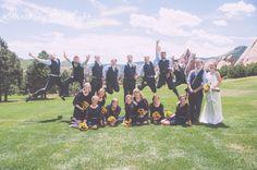 Different wedding party photos Arrowhead Golf Course Wedding Photos by Denver Wedding Photographer