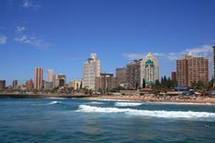 Book your Flight to Durban from UK at Travel Trolley .Travel Trolley has a wide range of information about Durban whether its about nearby hotels, Flights and Local attractions in Durban African Holidays, Durban South Africa, Travel Trolleys, Skyline, Kwazulu Natal, Best Cities, So Little Time, Live, Cool Places To Visit