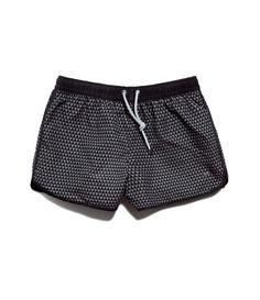 inspiration at Zara via Mr. Zara, Mens Short Swim Trunks, Billabong, New T Shirt Design, Bermudas Shorts, Men's Swimsuits, Mens Swim Shorts, Casual Wear For Men, Toddler Outfits