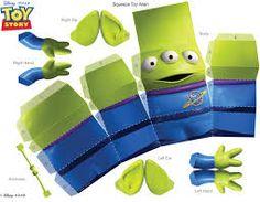 Resultado de imagem para toy story 3d papercraft