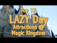 Top 10 LAZY Day Magic Kingdom Activities | WDW | KK5571 ....  Happy #MagicalMonday Mousketeers! In this episode, we talk about some of our favorite things to do on days where lines are long and we just want an easy-going relaxed day at Walt Disney World's Magic Kingdom... THANKS TO THIS EPISODES PRODUCER: LondonBLUE Studios, Video Production + Media! Learn more about them at http://LondonBlueStudios.com.