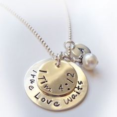 Christian Purity Jewelry for Young Ladies