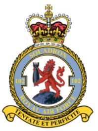 #102 Squadron was a Royal Air Force night bomber squadron in World War I and a heavy bomber squadron in World War II. After the war it flew briefly as a transport squadron before being reformed a light bomber unit with the Second Tactical Air Force within RAF Germany. Its last existence was as a Thor strategic missile unit. Was formed in August 1917 as a night bomber unit at Hingham, Norfolk with the RAF F.E.2b and F.E.2ds.