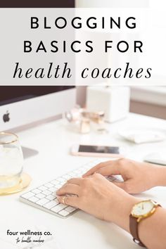 Blogging Basics For Health Coaches | Blogging For Beginners - Want to know how to attract your ideal clients with blog content? Click to learn the benefits of blogging for your health coaching website, plus how to effectively use your blog posts to attract your target audience. | Blogging Tips | Business Blogging | Marketing Tips | Healthy Coach | Wellness Business | Four Wellness Co. #blogging #marketing #healthcoach #wellnessbusiness #onlinebusiness #smallbusinesstips Lifestyle Group, Healthy Lifestyle, Coach Website, Dream Career, Target Audience, Digital Marketing Strategy, Creating A Blog, Blog Writing, Blogging For Beginners