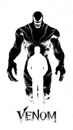 marvel venom Eddie Brock Inside Venom V Marvel Venom, Marvel Art, Marvel Dc Comics, Marvel Avengers, Venom Comics, Film Venom, Venom Movie, Personnage Dc Comics, Eddie Brock Venom
