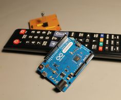 Grab an Arduino and turn it into a Power Point pointer using an IR sensor and your TV remote.