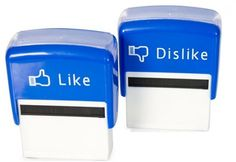 Stampila Like / Dislike de vanzare online on http://www.fashionlife.ro