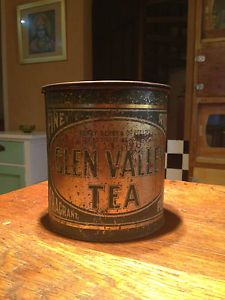 Very RARE Antique Melbourne Collins St Henry Berry Co Pty Ltd 2lbs Tea Tin | eBay