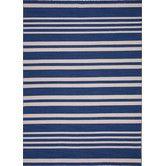 Found it at Wayfair - Pura Vida Blue Stripe Rug