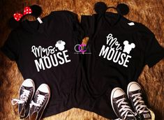 Couples Disney Shirts Mr Mrs Mouse Mr and Mrs Shirts Matching Couple Shirts TShirt Life Shirts Ideas of Life Shirts Whether you are Shopping for yourself or the entire. Couple Disney, T-shirt Couple, Matching Disney Shirts, Matching Couple Outfits, Disney Couples, Disney Shirts For Family, Shirts For Teens, Matching Couples, Mr Mrs