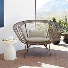 Modern Peacock Chair #westelm