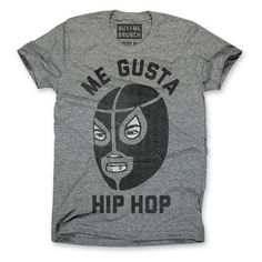 Me Gusta Hip Hop Tee Men's Gray, $19.75, now featured on Fab.
