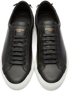 c8e4fde7f0474 Givenchy Black Knots Sneakers Givenchy Sneakers Mens