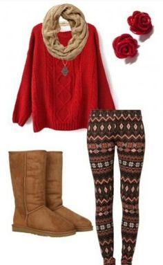 Outfits étnico con leggings, encuentra más opciones para combinar esta prenda en http://www.1001consejos.com/outfits-con-leggings/