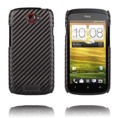Carbon (Sort) HTC One S Deksel