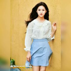 Kim Sae-ron (김새론) - Picture @ HanCinema :: The Korean Movie and Drama Database Asian Celebrities, Celebs, Drama Korea, Child Actors, Korean Actresses, Girl Photos, Korean Girl, High Waisted Skirt, Short Dresses