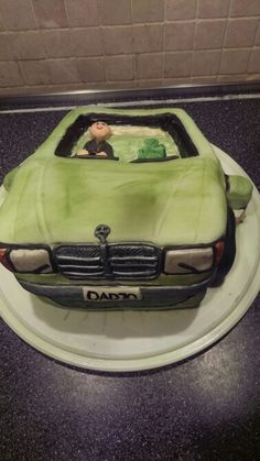 Merc cake for dads 70th