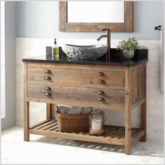 Ten Outrageous Ideas For Your Bathroom Cabinets Wood - Bathroom Vanities and Vanity Cabinets Bathroom Grey, Diy Bathroom Vanity, Bathroom Ideas, Small Bathroom, Bathroom Showers, Bath Vanities, Bathroom Fixtures, Modern Bathroom, Master Bathroom