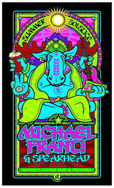 Michael Franti and Spearhead Summer Solstice poster