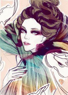 Illustrations by Manila, Philippines based illustrator Soleil Ignacio.