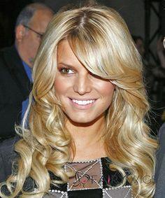 Wonderful Blonde Medium Female Celebrity Hairstyle