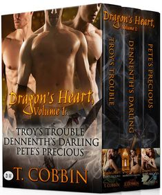 Boxed Set of Dragon Heart Series: UK Link - by Author T. Cobbin  £1 AV credit | Dragon's Heart, Volume 1  #paranormal, #romance, #BookBoost