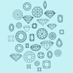 I like this image because it shows lots of different shapes of  a diamond which could help me on deciding what shape the jewelry box could be.